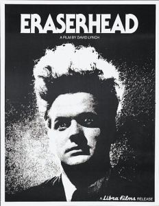 Eraserhead movie poster via Wikipedia