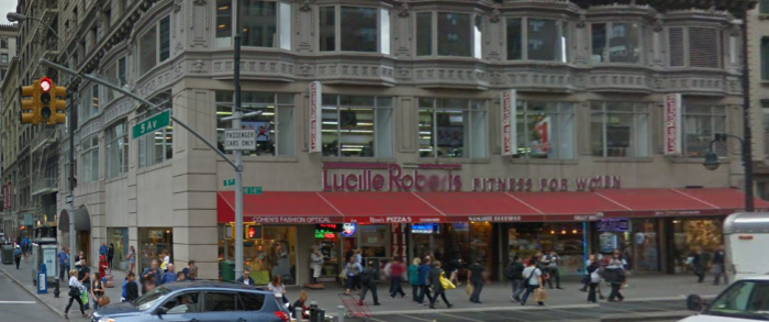 Building on the southwest corner of 5th Avenue and 14th Street - via Google street view