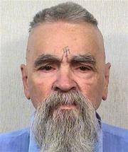 Criminal Charles Manson in 2014. Image via Wikipedia