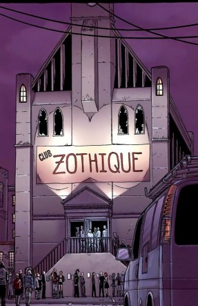 Club Zothique - detail from