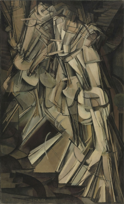 Marcel Duchamp - Nude Descending a Staircase (1912)