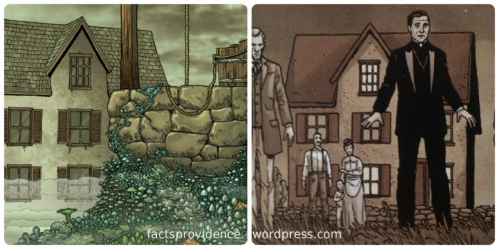 The house is the same on Providence 8 WOHPL variant cover and Providence #5
