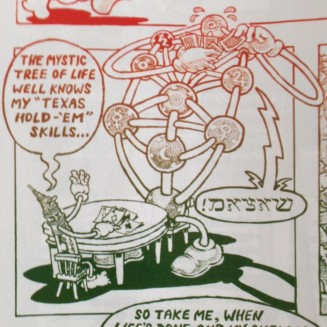 Detail from The End of the Line written and drawn by Alan Moore from Dodgem Logic #1