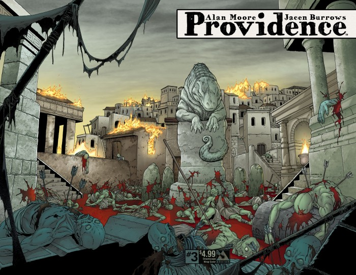 Providence #3, dreamscape cover, art by Jacen Burrows
