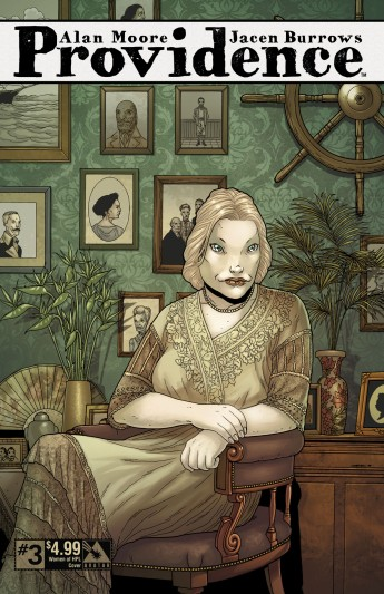 Providence #3, Women of HPL cover, by Jacen Burrows