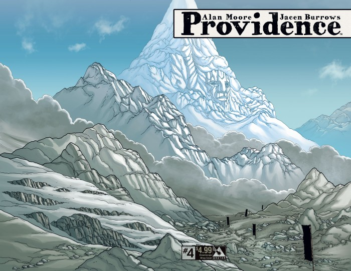 Providence #4, Dreamscape variant, art by Jacen Burrows