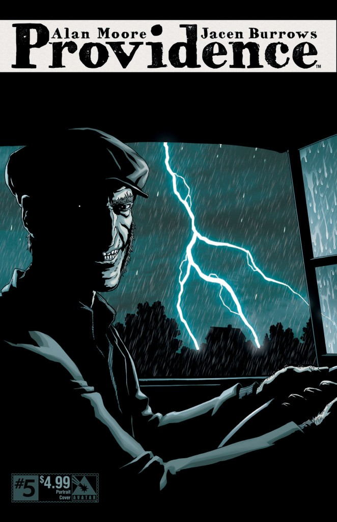 Providence #5, portrait variant, art by Jacen Burrows