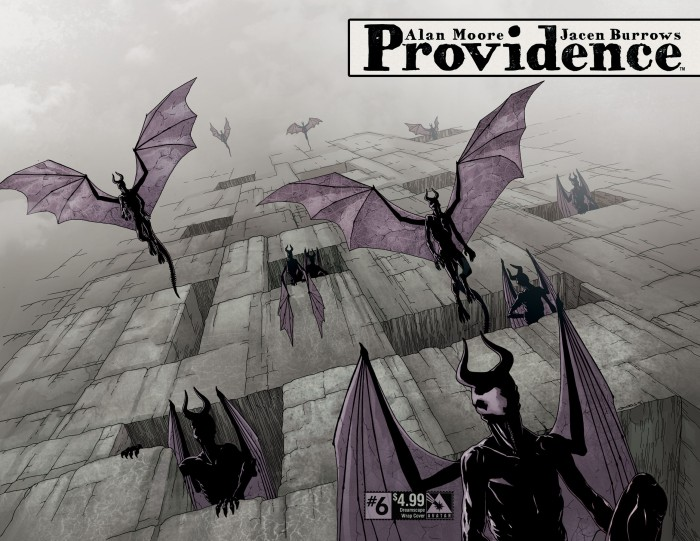 Providence #6 Dreamscape wrap cover, by Jacen Burrows