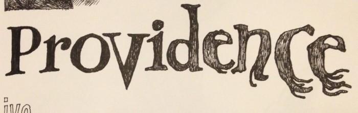 Joe's hand-lettering of Providence