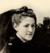 Photo of Lovecraft's mother Sarah Susan Phillips