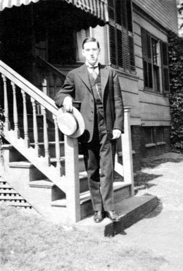 H. P. Lovecraft, June 1919