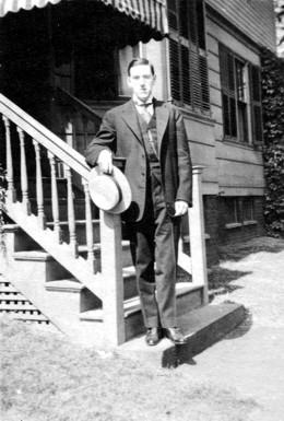 H. P. Lovecraft, June 1919
