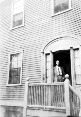 H. P. Lovecraft at 66 College St., Providence