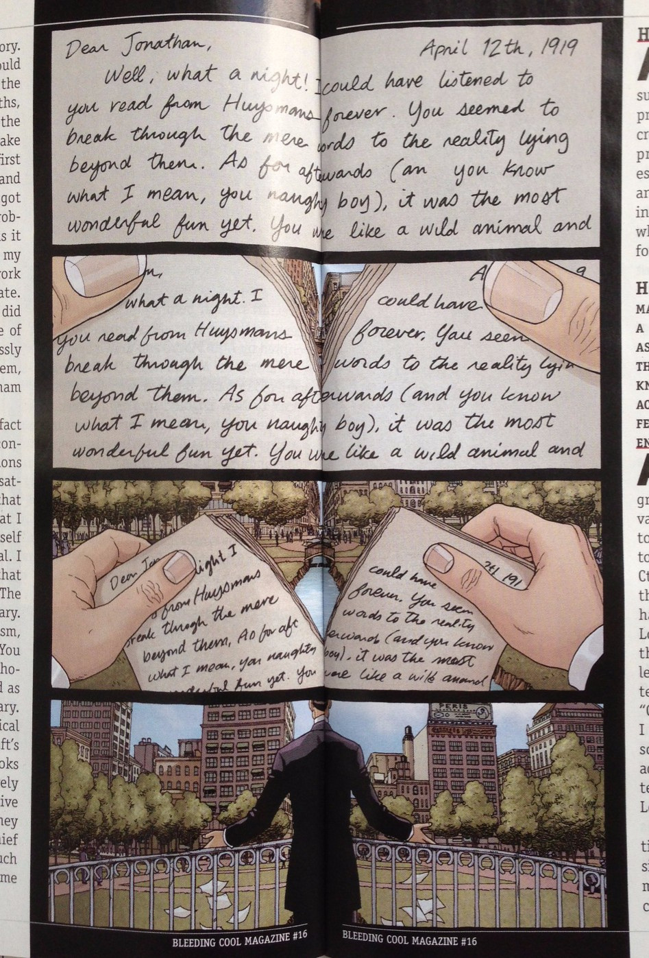 neonomicon facts in the case of alan moore s providence new providence page revealed in bleeding cool magazine 16 art by jacen burrows