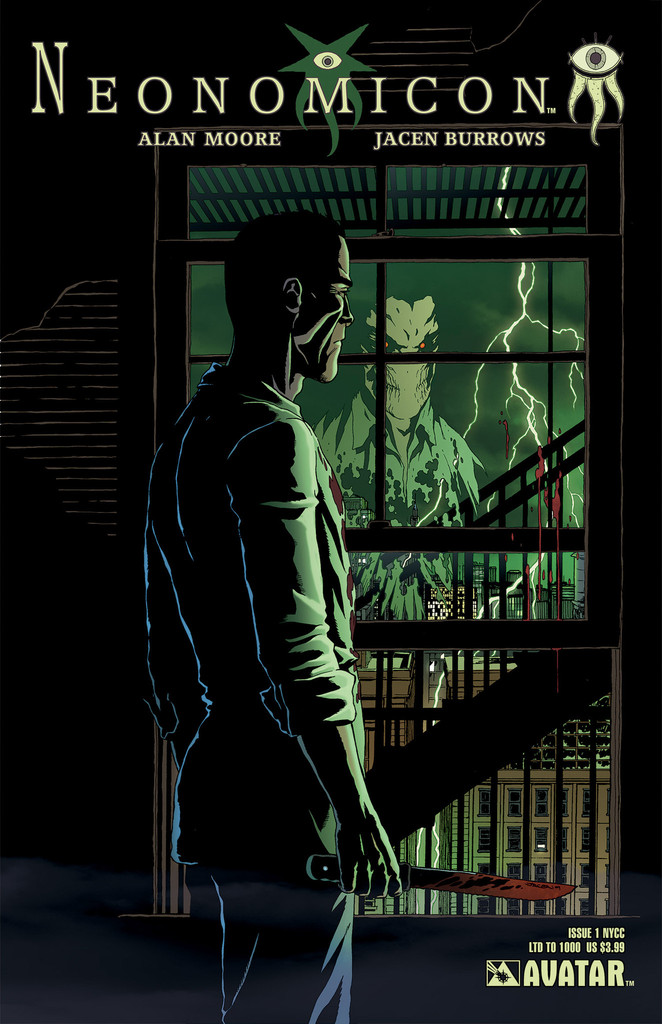 Neonomicon #1 New York Comic Con variant cover, by Jacen Burrows