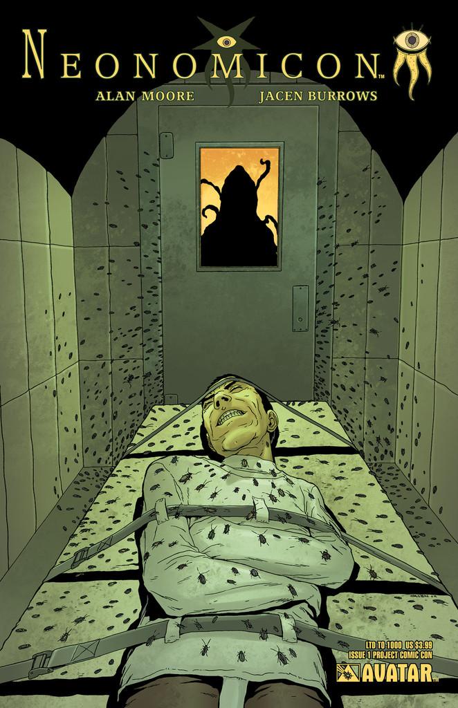 Neonomicon #1 Project Comic Con variant cover, by Jacen Burrows