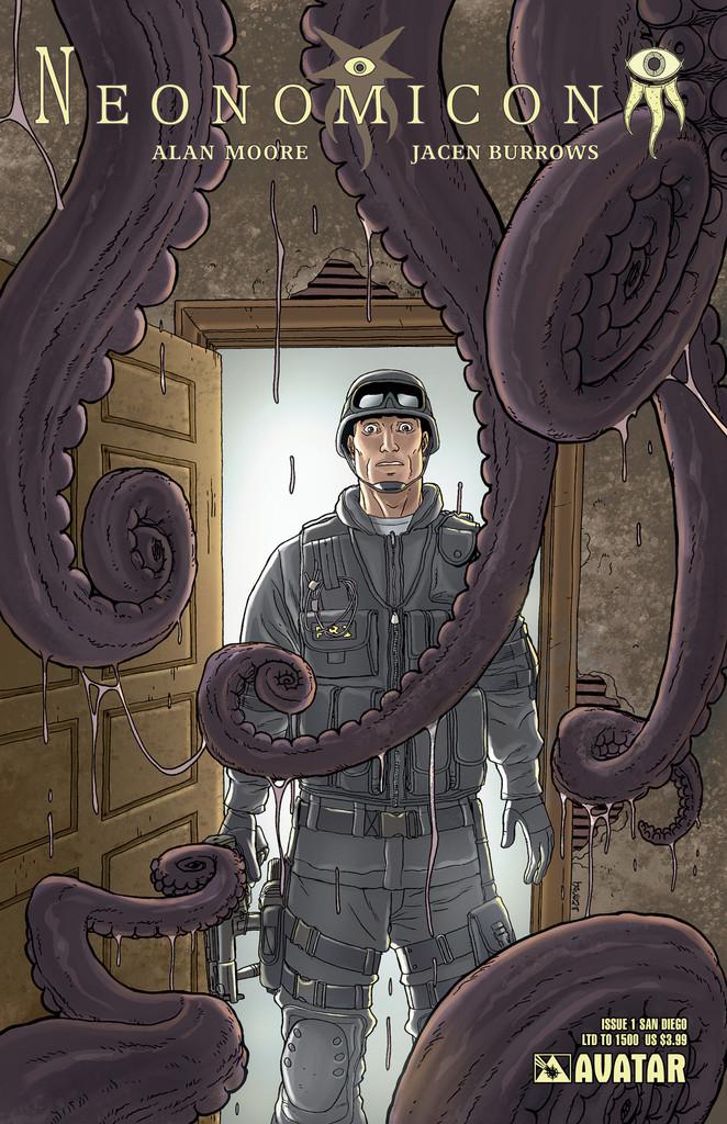 Neonomicon #1 San Diego Comic Con variant cover, by Jacen Burrows
