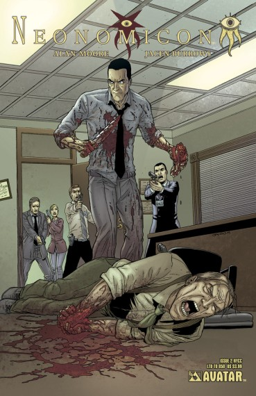 Neonomicon #2 New York Comic Con variant cover, by Jacen Burrows