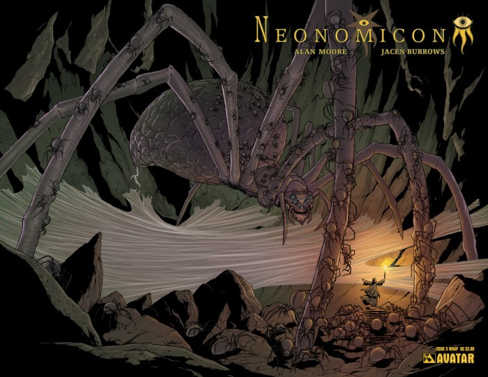 Neonomicon #3 wraparound cover, by Jacen Burrows
