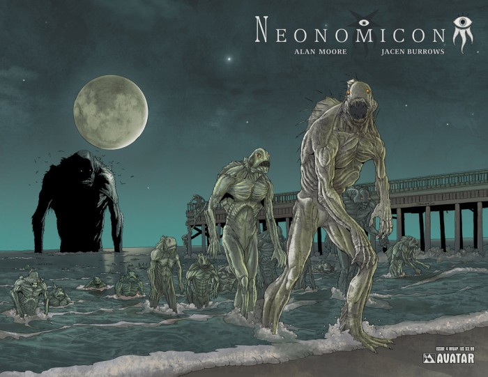 Neonomicon #4 wraparound cover, by Jacen Burrows