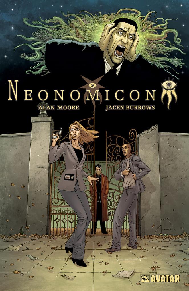 Neonomicon TPB cover, by Jacen Burrows