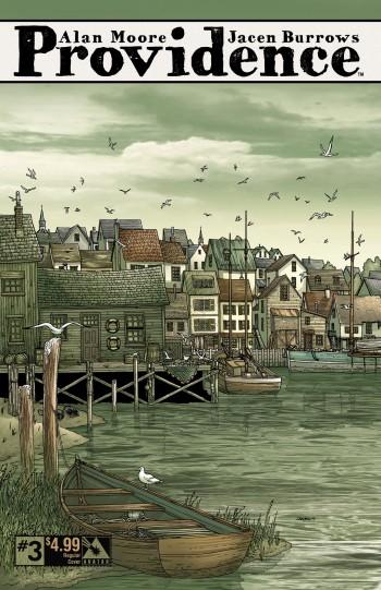 Providence #3 regular cover, art by Jacen Burrows