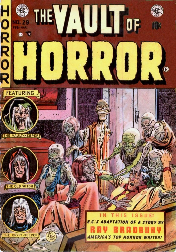 Vault of Horror #29 cover, by Johnny Craig