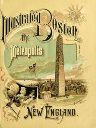 Cover of Illustrated Boston guidebook