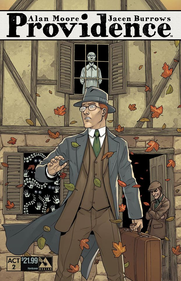 Providence Act 2 hardcover cover - art by Jacen Burrows