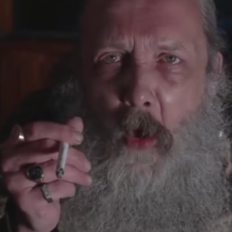 Alan Moore still from embedded Providence video