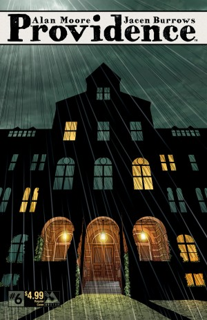 Providence 6 cover – art by Jacen Burrows