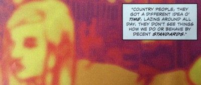Detail from Providence #5, P1,p4. Art by Jacen Burrows