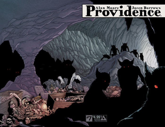 Providence #7, Dreamlands wrap variant cover, art by Jacen Burrows