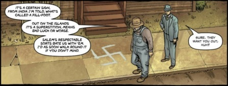 Panel from Providence #3. Art by Jacen Burrows