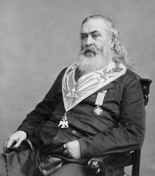 General Albert Pike - image via Wikipedia