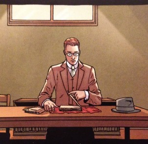 What are you reading about Providence? Detail from Providence #6 P11,p4 - art by Jacen Burrows