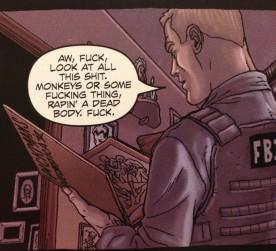 Pickman shown in Neonomicon #1 P21,p4 (detail) art by Jacen Burrows