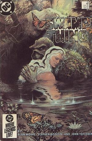 Cover of Swamp Thing No.34