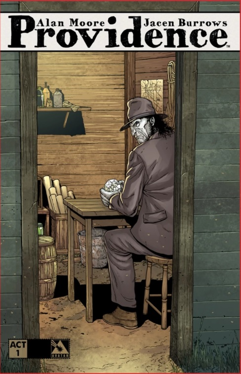 Cover for Providence Act 1 Hardcover Kickstarter Exclusive. Art by Jacen Burrows