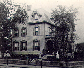 Lovecraft's birth home at 454 Angell Street. Photo via hplovecraft.com