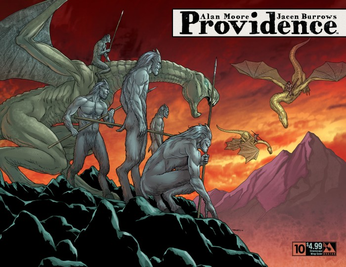 Providence #9, Dreamscape wrap variant cover, art by Jacen Burrows