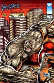 Image Comics 1995 Violator vs. Badrock #1 - written by Alan Moore, edited by Kurt Hathaway