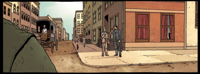 Providence #2 P4,p1 panel art without word balloons - courtesy Jacen Burrows