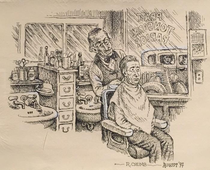Drawing by Robert Crumb