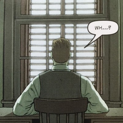 Robert Black didn't see this coming. Detail from Providence #10 P17,p3 - art by Jacen Burrows