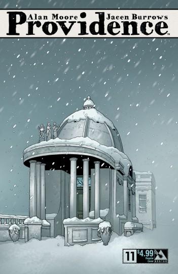 Providence 11 regular cover - art by Jacen Burrows