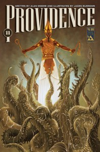 Providence #11 Weird Pulp variant, art by Jacen Burrows and Michael DiPascale