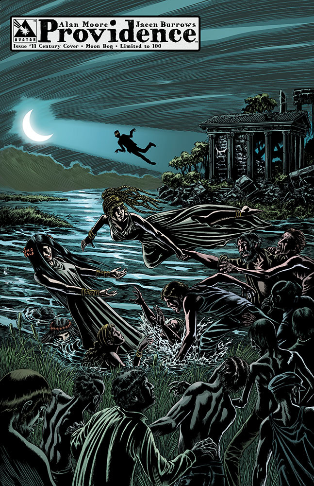 Providence #11, Century Variant 10 - Moon Bog; art by Raulo Caceres